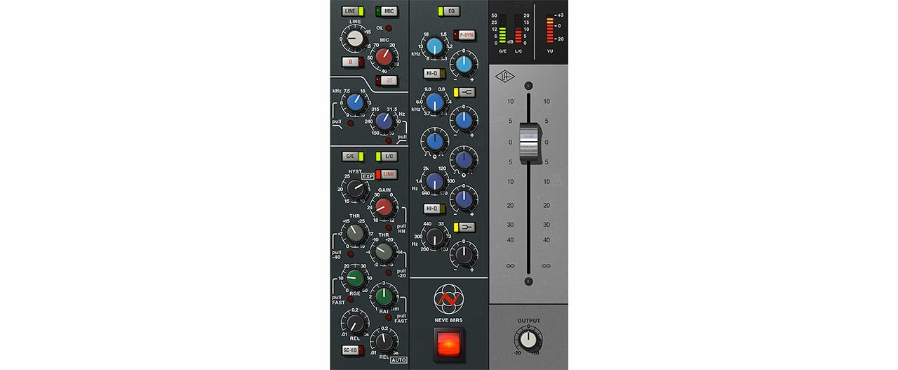 Neve 88RS Channel Strip UAD2 Plugin Collection