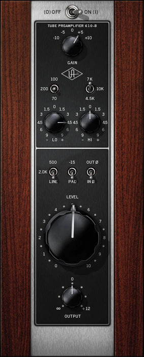 A Class Tube Preamp