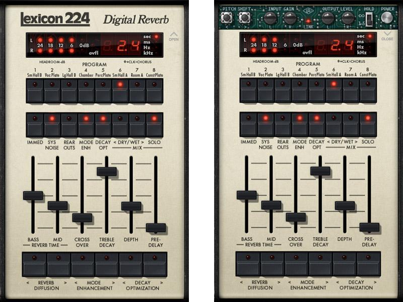 Lexocon 224 Digital Reverb UAD-2 Plug-in