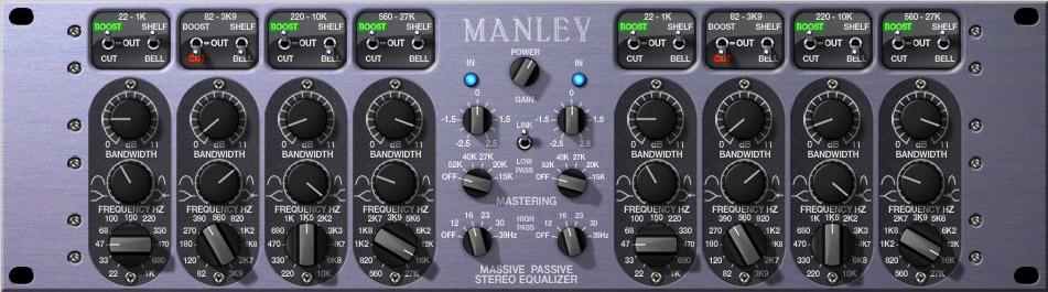 Manley Massive Passive Mast EQ