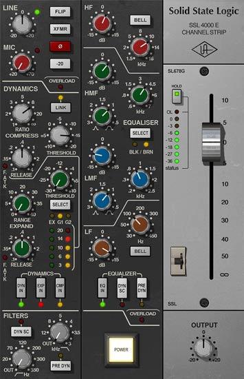 SSL 4000 UAD2 Plug-in
